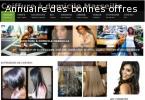 Site internet salon de coiffure, site internet coiffure à domicile